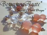 ボツワナ瑪瑙* ◆* 大地の贈り物 *◆