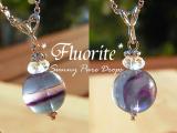 フローライト*Necklace* ◆* 魔法惑星 *◆